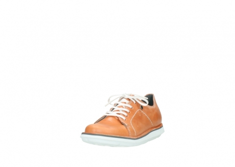 wolky lace up shoes 08475 coal 30540 peach leather_21