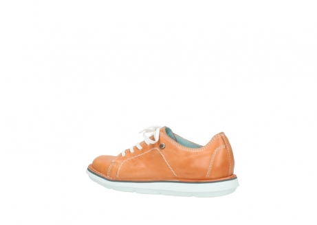 wolky lace up shoes 08475 coal 30540 peach leather_3