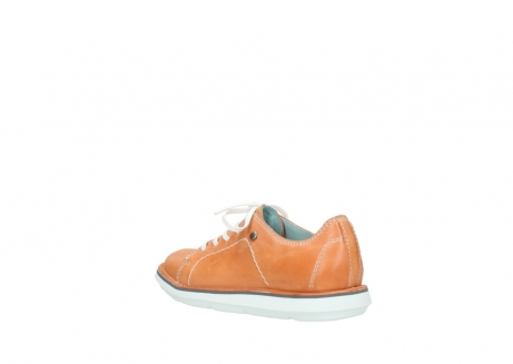 wolky lace up shoes 08475 coal 30540 peach leather_4
