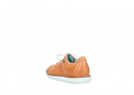 wolky lace up shoes 08475 coal 30540 peach leather_5