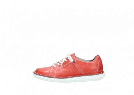 wolky lace up shoes 08475 coal 30570 red summer leather_1
