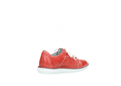 wolky lace up shoes 08475 coal 30570 red summer leather_10