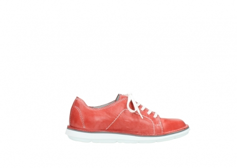 wolky lace up shoes 08475 coal 30570 red summer leather_12