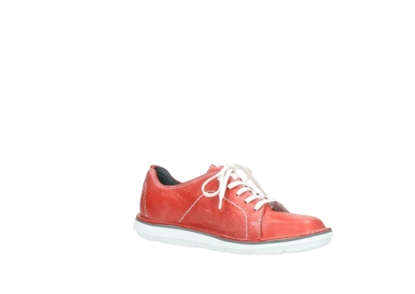 wolky lace up shoes 08475 coal 30570 red summer leather_15