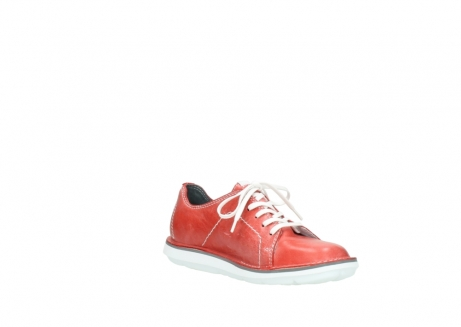 wolky lace up shoes 08475 coal 30570 red summer leather_16