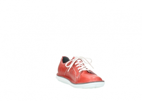 wolky lace up shoes 08475 coal 30570 red summer leather_17