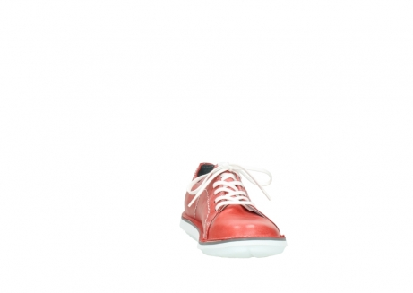 wolky lace up shoes 08475 coal 30570 red summer leather_18