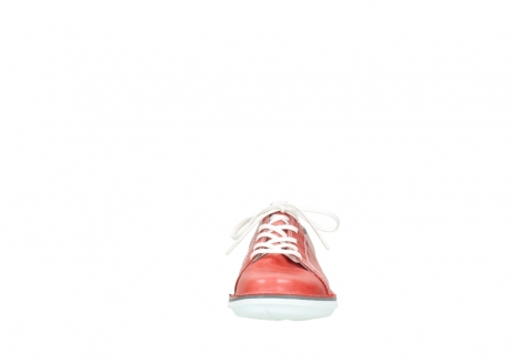 wolky lace up shoes 08475 coal 30570 red summer leather_19