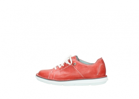 wolky lace up shoes 08475 coal 30570 red summer leather_2