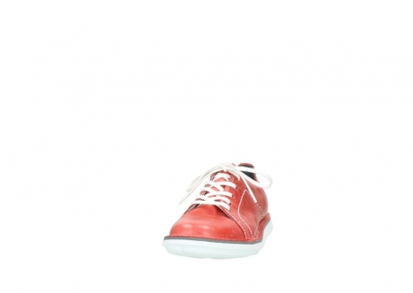 wolky lace up shoes 08475 coal 30570 red summer leather_20
