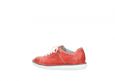 wolky lace up shoes 08475 coal 30570 red summer leather_3
