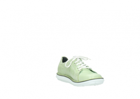 wolky lace up shoes 08475 coal 30750 lime leather_17