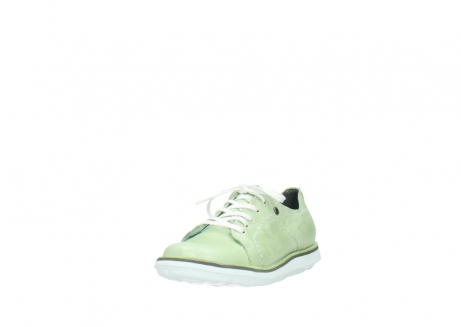 wolky veterschoenen 08475 coal 30750 lime leer_21
