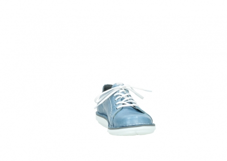 wolky veterschoenen 08475 coal 30820 denim leer_18