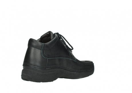 wolky lace up shoes 09200 roll moc men 90000 black leather_10