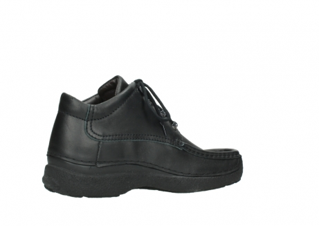 wolky lace up shoes 09200 roll moc men 90000 black leather_11