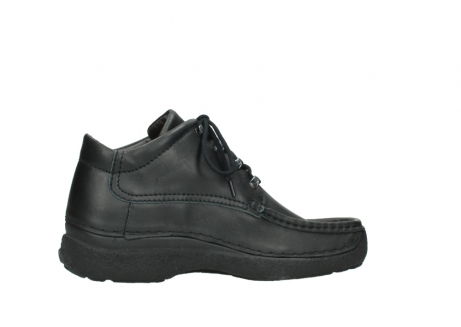 wolky lace up shoes 09200 roll moc men 90000 black leather_12