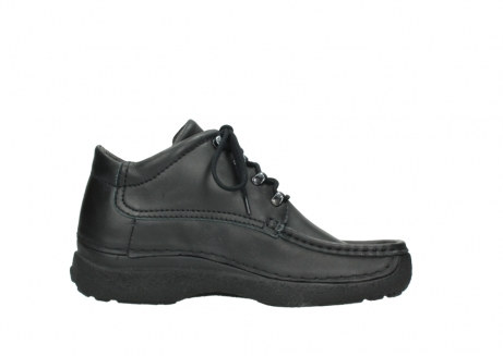 wolky lace up shoes 09200 roll moc men 90000 black leather_13