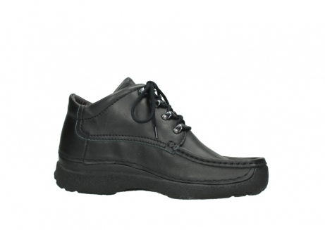 wolky lace up shoes 09200 roll moc men 90000 black leather_14