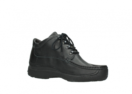 wolky lace up shoes 09200 roll moc men 90000 black leather_15