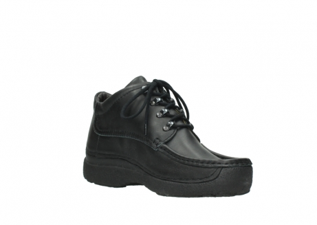 wolky lace up shoes 09200 roll moc men 90000 black leather_16