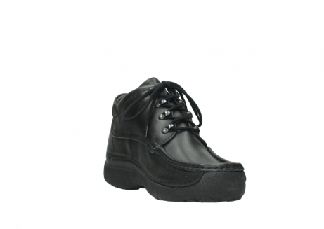 wolky lace up shoes 09200 roll moc men 90000 black leather_17