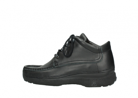 wolky lace up shoes 09200 roll moc men 90000 black leather_2