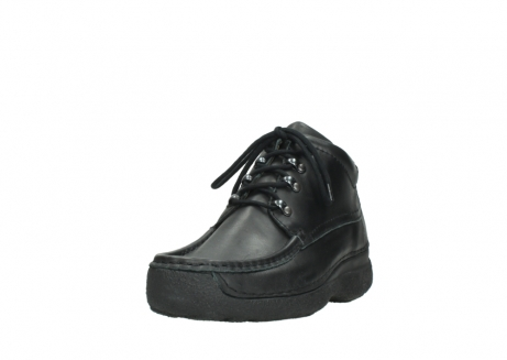 wolky lace up shoes 09200 roll moc men 90000 black leather_21