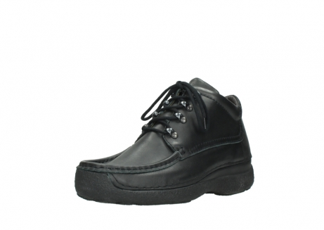wolky lace up shoes 09200 roll moc men 90000 black leather_22