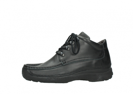 wolky lace up shoes 09200 roll moc men 90000 black leather_24