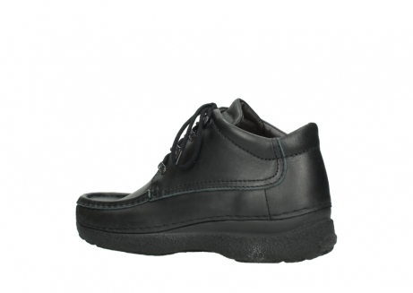 wolky lace up shoes 09200 roll moc men 90000 black leather_3