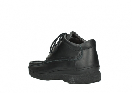 wolky lace up shoes 09200 roll moc men 90000 black leather_4