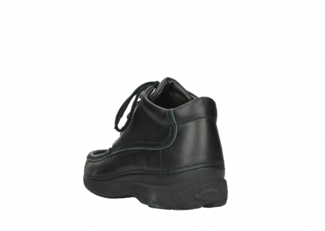 wolky lace up shoes 09200 roll moc men 90000 black leather_5