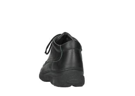 wolky lace up shoes 09200 roll moc men 90000 black leather_6