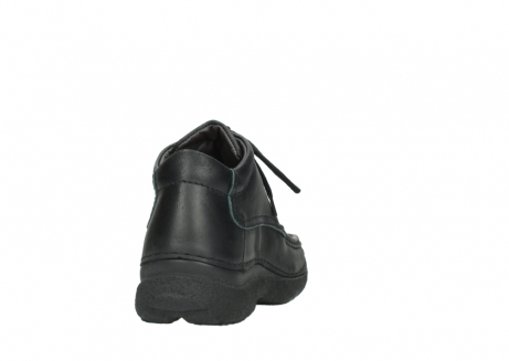 wolky lace up shoes 09200 roll moc men 90000 black leather_8