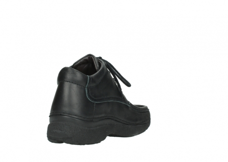 wolky lace up shoes 09200 roll moc men 90000 black leather_9