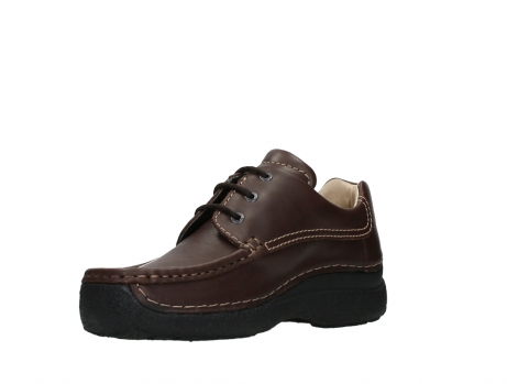 wolky chaussures a lacets 09201 roll shoe men 50300 cuir marron_10