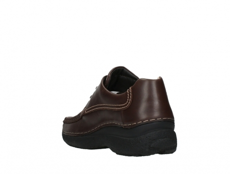wolky chaussures a lacets 09201 roll shoe men 50300 cuir marron_17