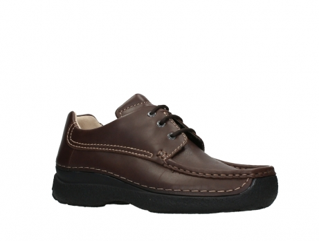 wolky chaussures a lacets 09201 roll shoe men 50300 cuir marron_3