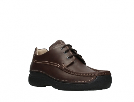 wolky chaussures a lacets 09201 roll shoe men 50300 cuir marron_4