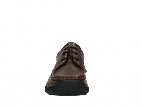 wolky chaussures a lacets 09201 roll shoe men 50300 cuir marron_7