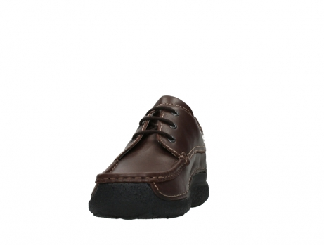 wolky chaussures a lacets 09201 roll shoe men 50300 cuir marron_8
