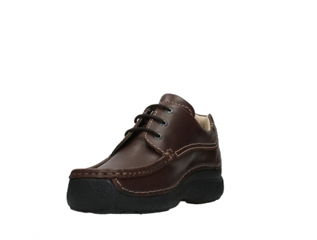 wolky chaussures a lacets 09201 roll shoe men 50300 cuir marron_9