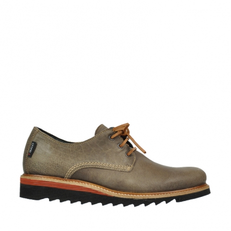 wolky lace up shoes 09312 nano 30150 taupe suede
