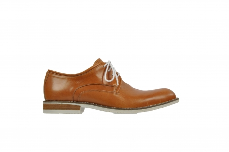 wolky veterschoenen 09380 boston 20490 chestnut kastanje leer