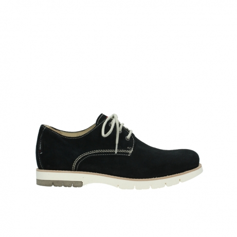 wolky chaussures a lacets 09390 canberra 40800 suede bleu