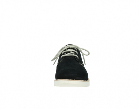 wolky lace up shoes 09390 canberra 40800 blue suede_19