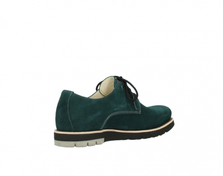 wolky lace up shoes 09392 canberra winter 40880 petrol blue suede_10