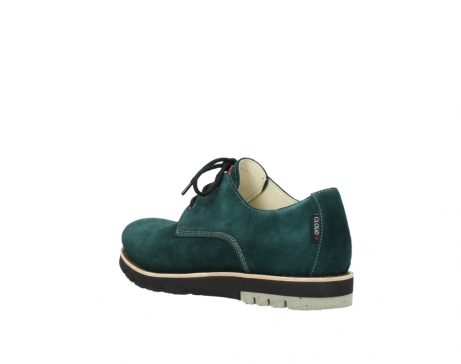 wolky lace up shoes 09392 canberra winter 40880 petrol blue suede_4