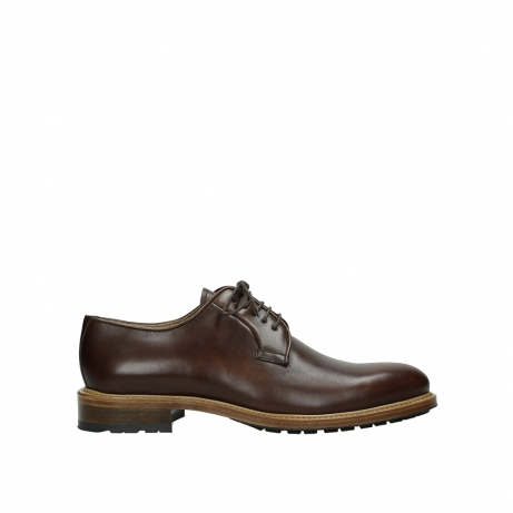 wolky lace up shoes 09403 turin 30430 cognac leather